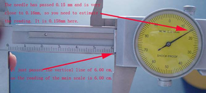 how to read a dial caliper worksheet | Robert blog