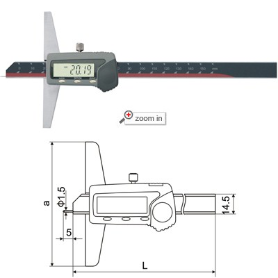 Needle Digital Depth Gauges