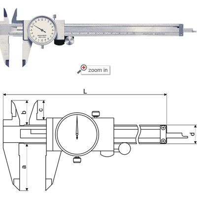 Dial Calipers(Open Block Type)