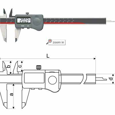 IP65 Waterproof Digital Calipers