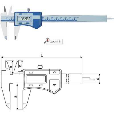 High Precision Digital Calipers
