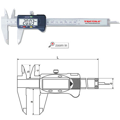 Standard Digital Calipers