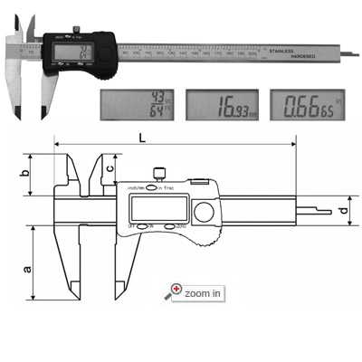 Fractional Calipers