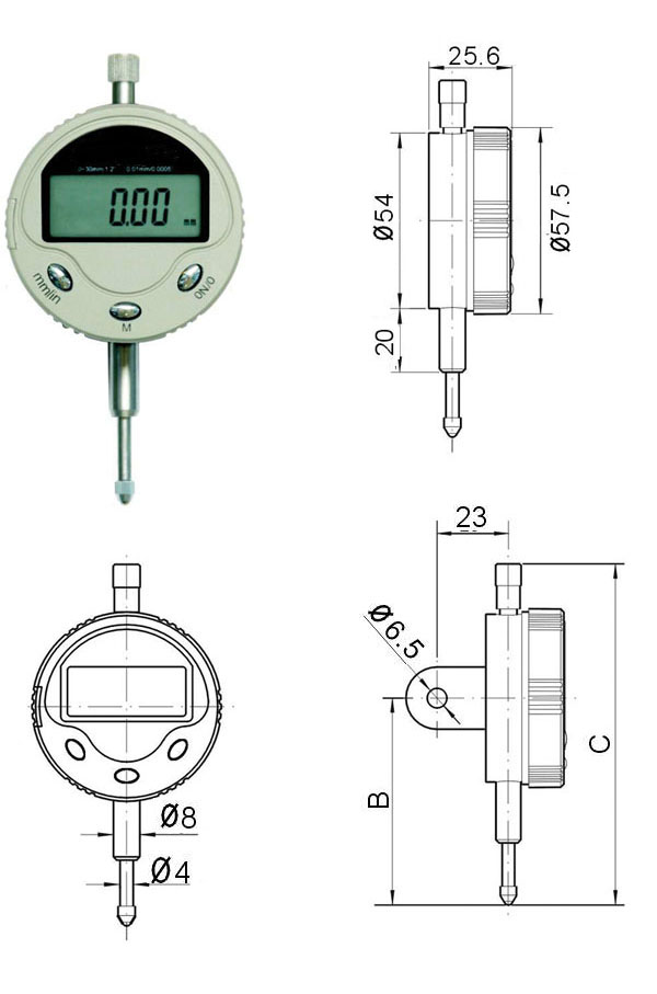 0-10mm Digital Indicators
