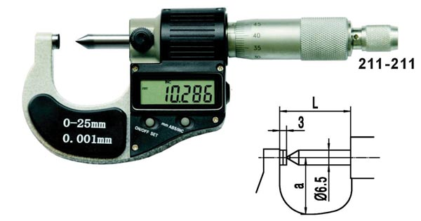 Single Point Type Micrometers