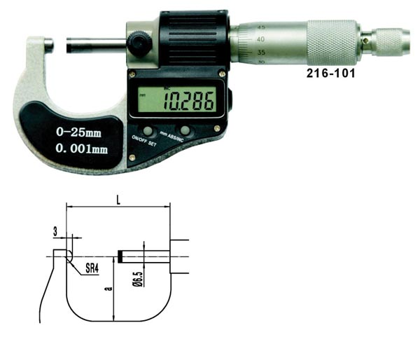 Tube Digital Micrometers