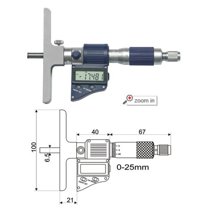 Digital Depth Micrometers