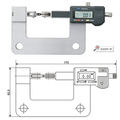 Digital Thickness Gages For On-line Measuring
