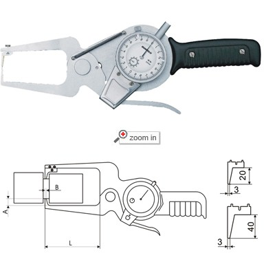 Outside Dial Caliper Gage(With Interchangeable Contact Point)