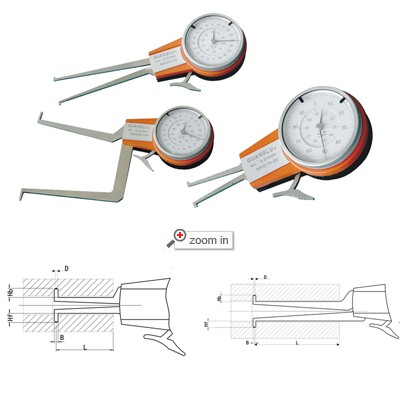 Internal Dial Caliper Gage(Whole From)