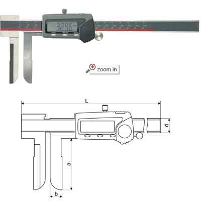 Inside Knife-edge Type Digital Calipers
