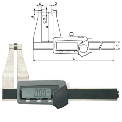 Digital Thickness Calipers
