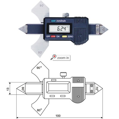 Digital Welding Gages