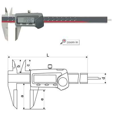 Knife-point Special Digital Calipers