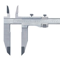 Vernier Calipers With Nib And Sharp Edged Jaws
